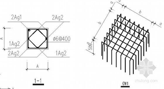 预制桩设计说明及节点构造详图