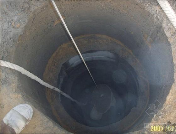 建筑工程人工挖孔桩施工工艺图文详解