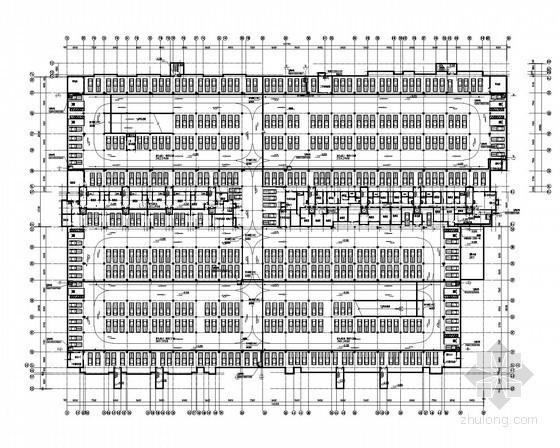 [南京]高层住宅区给排水全套施工图纸(8栋、地下室)