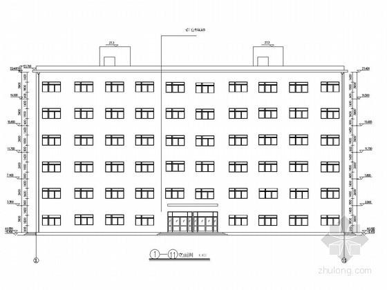 [学士]六层框架结构宾馆毕业设计(含建筑图、结构图、计算书)