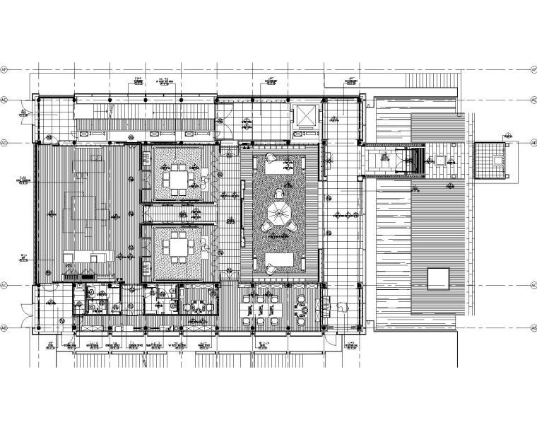 iu酒店工程手册资料下载-[北京]BCHOTEL特色酒店装饰施工图+物料手册