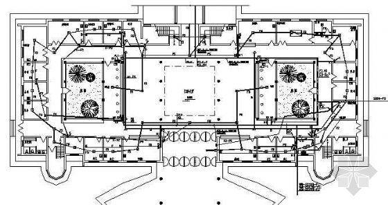十一层医院门诊楼电气设计图