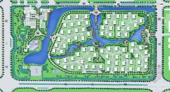 [东营]住区景观规划方案设计