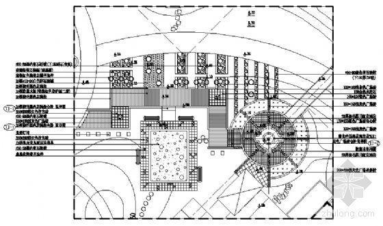 木平台平面详图