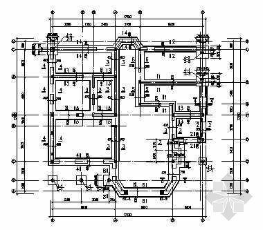 棋盘山别墅结构设计图纸.