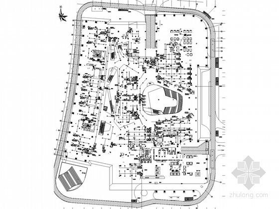 [广东]超高层商业综合性建筑暖通空调与通风设计施工图