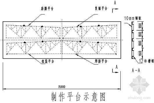 33M梯形钢屋架施工工法