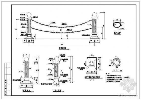 铁艺护栏详图(八)