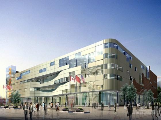 [北京]某城市核心区购物中心方案设计文本
