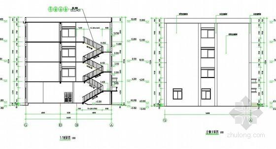 [湖南]2013年某学校食堂四层框架综合楼工程量清单及配套图纸