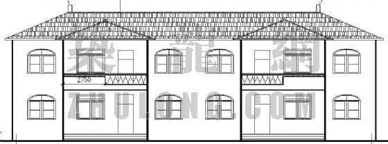 某别墅建筑、结构施工图(2)