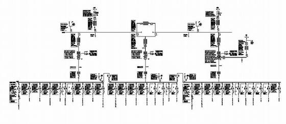 某总降压变电所电气主接线图