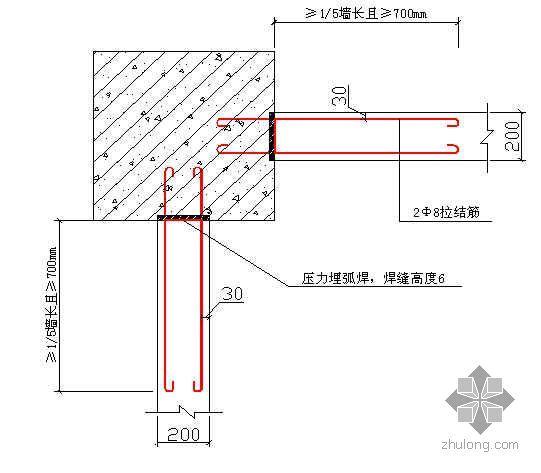 江西某工程二次结构施工方案(加气混凝土砌块 埃特板隔墙)