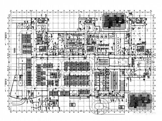 [河北]最大三甲妇幼医院强电系统施工图纸221张(知名设计院)