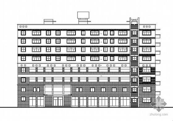 某八层框架结构办公综合楼建筑施工图