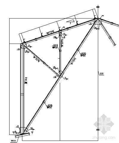 天窗架节点详图