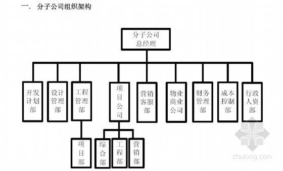 房地产集团公司组织管理手册(组织架构与通用职能)75页
