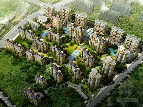 [安徽]artdeco风格高层住宅区规划设计方案文本