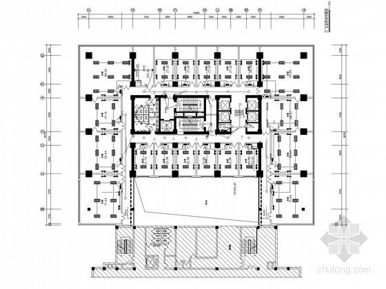[河北]27层综合办公楼强弱电系统施工图纸
