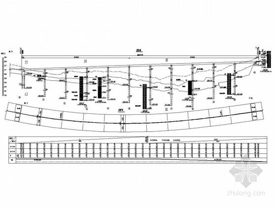 [湖北]高速公路大中桥施工图设计(5座大桥,1座中桥)