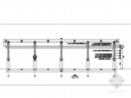 钢结构特色花架施工详图
