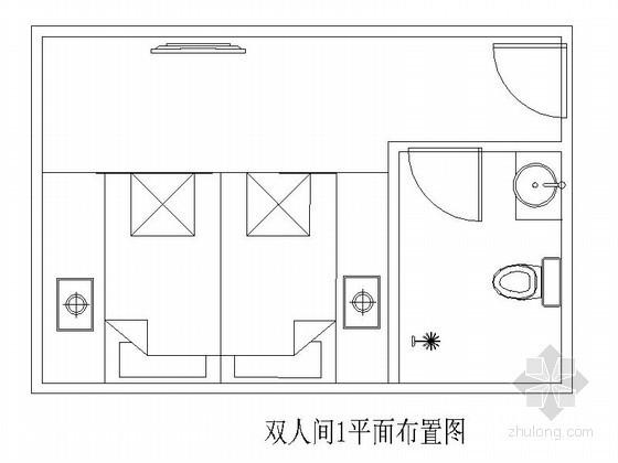 [成都]某洗浴中心双人间装修图