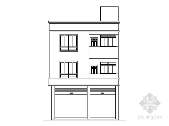 某三层农村异型别墅设计方案