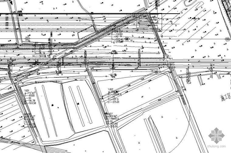 天津市某电厂给排水可研及平面布置图