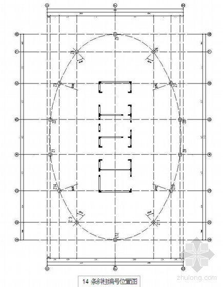 广州某高层大厦斜柱施工方案(框剪结构 附图)
