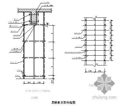 青岛某酒店模板工程施工方案(双面覆膜木胶合板 有计算)