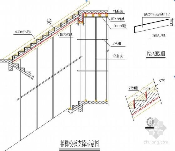 [甘肃]框剪结构商住楼工程模板工程施工方案