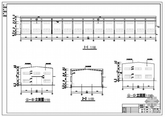 重庆某锰桃生产车间结构图