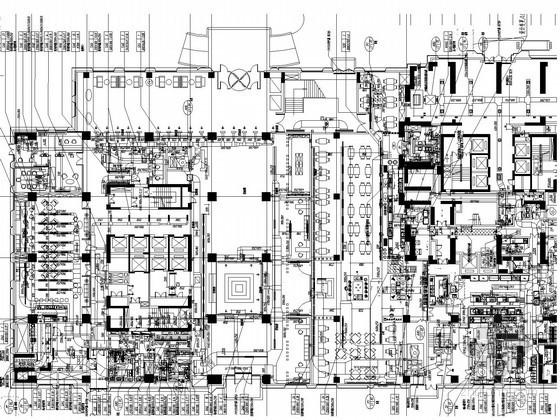 [湖北]超高层五星级酒店暖通空调系统设计竣工图(著名院作品 酒店结构形式多)