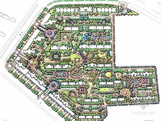 [西安]国际社区景观设计方案