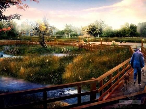 [浙江]浓厚乡村气息湿地公园景观设计方案