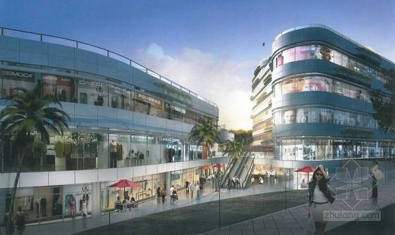 [长沙]5万平多层商业广场结构施工图(含建筑施工图)