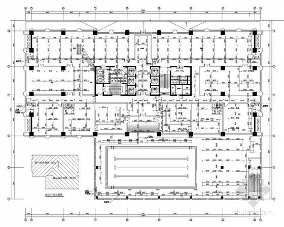喷水广场给排水资料下载-[山东]大型国际商业广场给排水图纸
