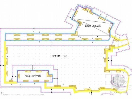 [上海]12米深基坑桩撑及搅拌桩重力挡墙支护设计方案