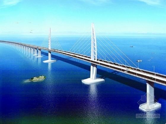 [广东]著名跨海大桥航道桥下部结构施工图301张(复合桩)