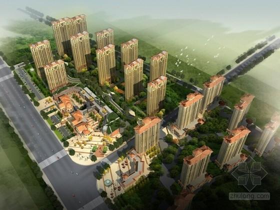 [辽宁]欧式风格住宅区规划设计方案文本