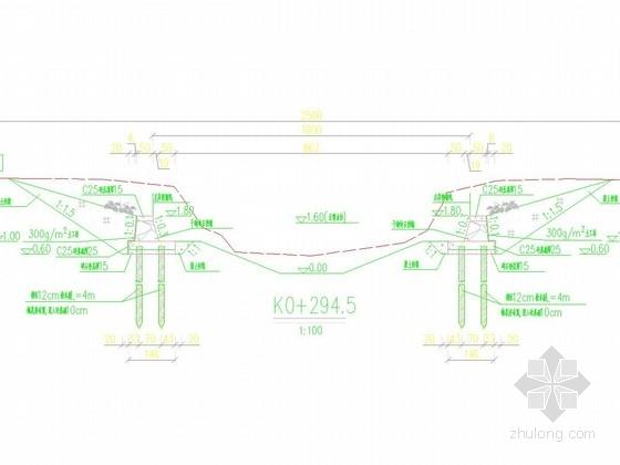[浙江]重力式挡墙河道综合整治施工图