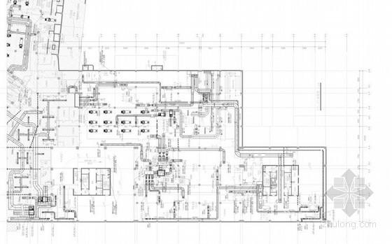 [北京]大型商业办公综合楼空调通风及防排烟系统设计施工图(含机房设计)