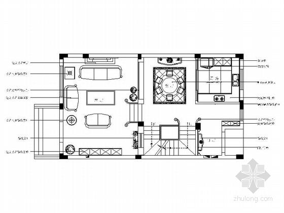 [南通]精品美式特色三层别墅室内装修图(含效果)