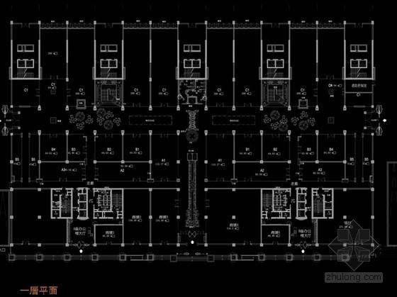 [山西]购物广场中心高档五星级综合型酒店设计方案