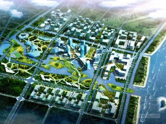 [浙江]沿海商业城市中心地块规划设计方案文本