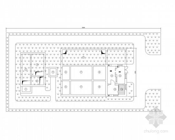 污水处理厂工艺施工设计图
