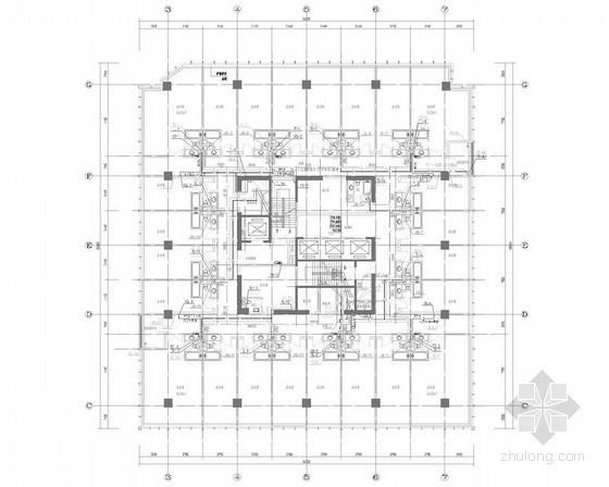[广东]一类公建超高层综合体给排水消防施工图(大空间智能 气体灭火 系统图全)