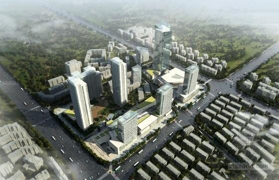 [武汉]现代风格商业区规划及单体设计方案文本
