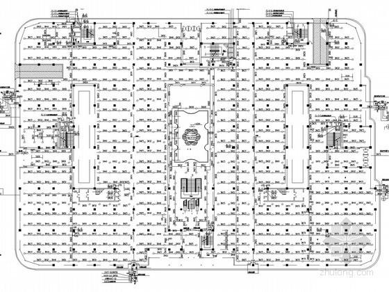 大型商场给排水及消防施工图(自动喷淋)