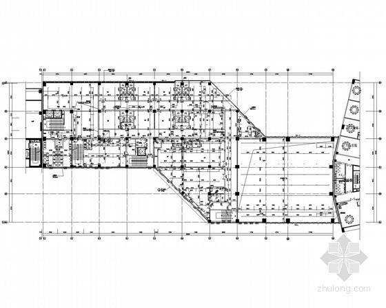 [海南]商业楼全套施工设计图(水、暖、电)